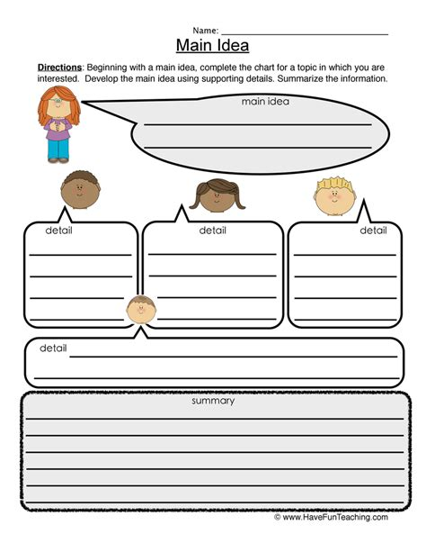 4th grade 187 idea and details worksheets 4th grade