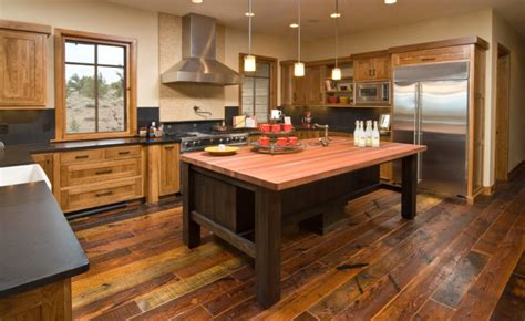 kitchens  dark wood floors pictures