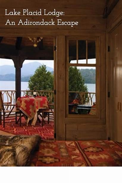 Luxury Adirondack Cabin Lodge Lake Placid Winter