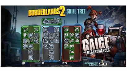 Gaige Borderlands Skill Tree Build Character Main