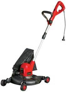 Mastercraft Electric Lawn Mower Edger Trimmer