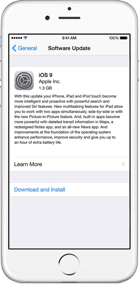 iphone firmware update started to update to ios 9 2 1 eehelp