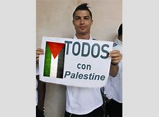 Christiano Ronaldo sokong Palestine my_swamp