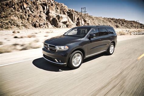 2018 Dodge Durango Limited Awd First Test Motor Trend