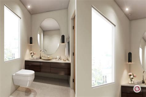 large mirror 5 superb small bathroom designs for indian homes