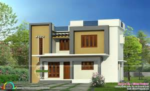 Simple Flat Roof Home Design