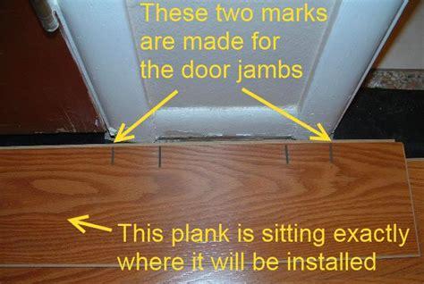 cutting door jambs for laminate flooring installing last row of laminate flooring in hallways