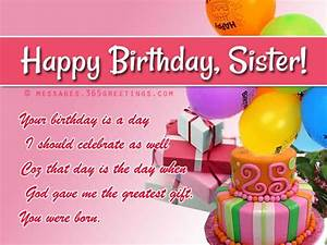 Birthday wishes For Sister, that warm the heart | Happy ...