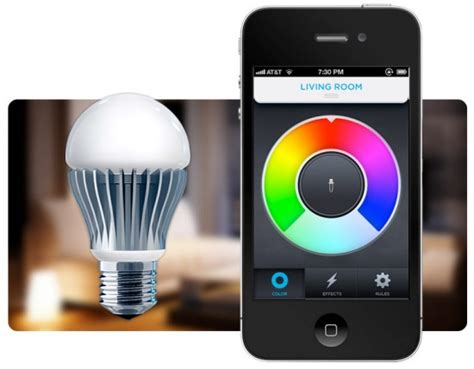 iphone controlled lights the light bulb of the future with your iphone