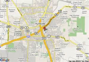 Huntsville Alabama Map
