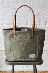Military Canvas Tote Bag