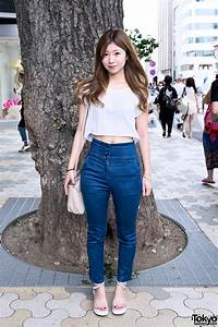 Crop Top, Navel Piercing, High Waist Jeans & Samantha Vega ...