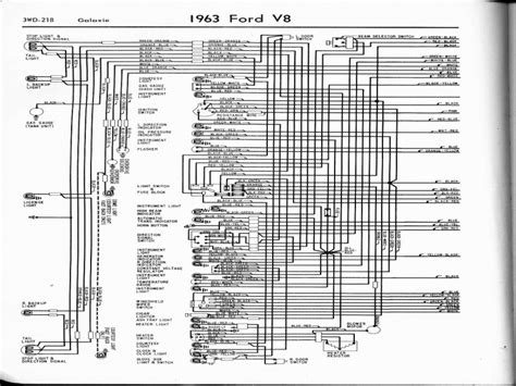 1967 Ford Galaxie Wiring Diagram Alternator charging system wiring diagram 1963 ford galexie wiring