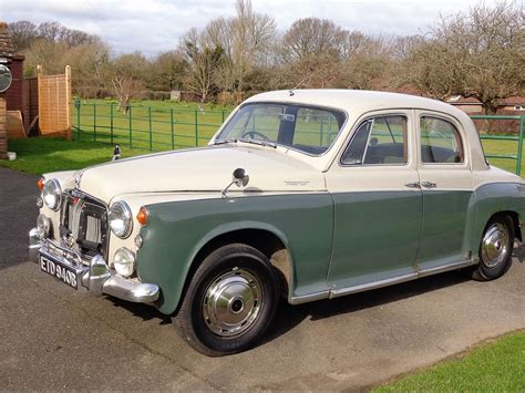 P4 For Sale by Rover P4 For Sale Classic Cars For Sale Uk