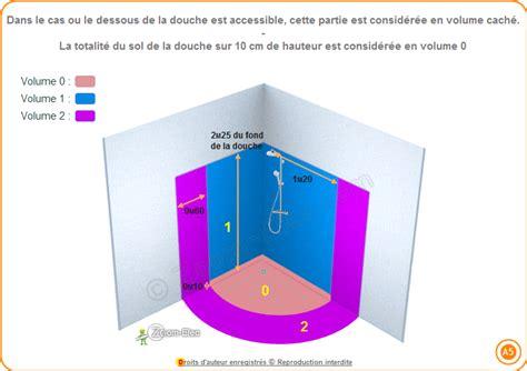 normes electriques salle de bain norme lectrique salle de bain et salle d eau volumes de scurit ou de protection