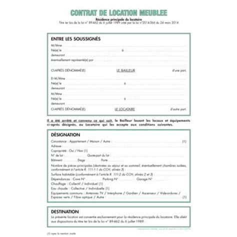 bail de bureau mod鑞e contrat type location meublee contrat de location meubl modele de contrat de location meublee gratuit digpres mon immeuble l 39 information et