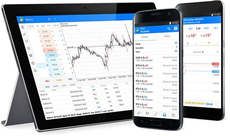 mt4 for android the metatrader 5 mobile app for android