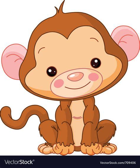 monkey royalty free vector vectorstock