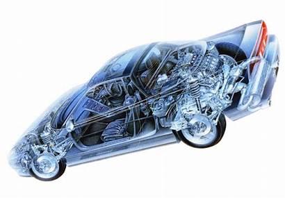 Honda 3d Mechanical Through Automotive Artist Saito
