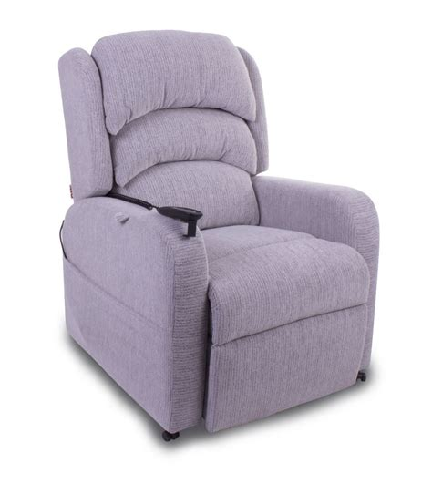 Rise Recliner Chairs by Pride Camberley Fabric Rise And Recliner Chair Recliners