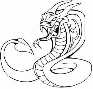 King Cobra Coloring Pages | Cobra | Pinterest | King cobra