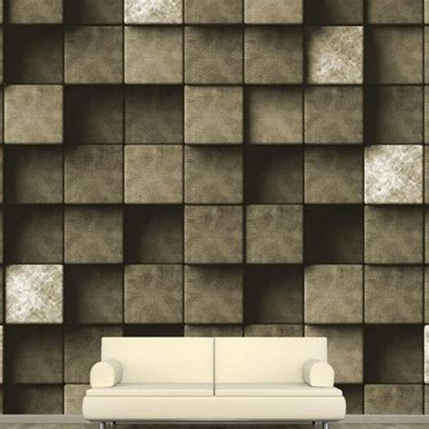 stone designed blue digital wall wallpaper rs  square