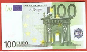 100 Euro 2002 X (Germany), 2002 Issue