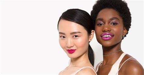 Pink Makeup Shades Different Skin Tones Video