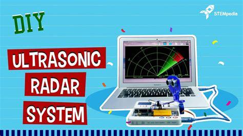 ultrasonic radar system  arduino diy