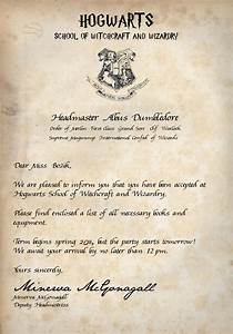 Image Gallery harry potter letter
