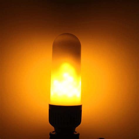 flaming led light bulb flame led bulbs flickering flame