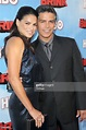 Actor Esai Morales and wife Elvimar Silva attend HBO's ...