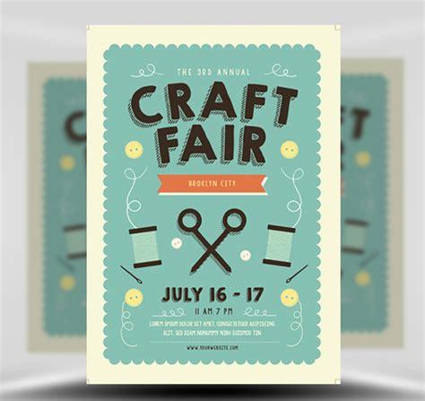 Show Template by Craft Fair Flyer Template Flyerheroes