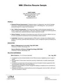 an effective resume format best photos of successful resumes sles most successful resume formats successful resume