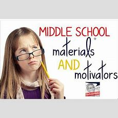 Middle School Linky Party  Speechlanguage Therapy Blog Posts  Pinterest Studentcentered