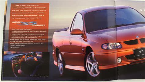 Holden Commodore Vu Ute Series 1 Brochure