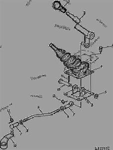 Creeper Transmission Control Lever And Linkage  With Sgb