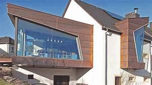 Anbau Haus Glas : fassaden aus kupfer ergeben unverwechselbares gesicht ~ Lizthompson.info Haus und Dekorationen