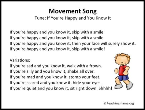 10 preschool transitions songs and chants to help your 637   Slide04
