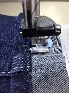 Vorhang Kürzen Ohne Nähen : anleitung originalsaum einer jeans umn hen mode selber ~ A.2002-acura-tl-radio.info Haus und Dekorationen