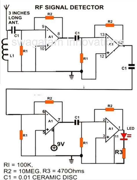 How Make Cell Phone Signal Detector Circuit