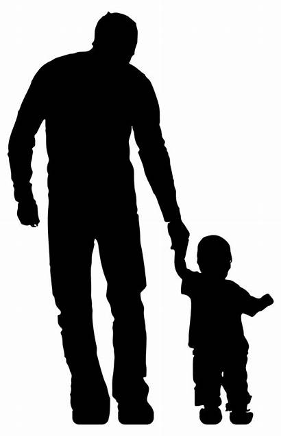 Clipart Father Clip Silhouette Member Toddler Transparent