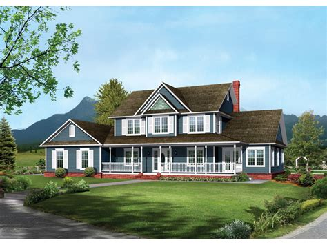 two house plans with front porch two country house plans escortsea