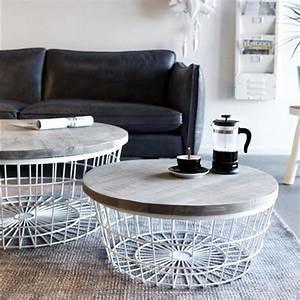 Beistelltisch Weiß Rund Holz : beistelltisch new glory 70 cm wei rund couchtisch kaffeetisch holz metall new maison ~ Bigdaddyawards.com Haus und Dekorationen
