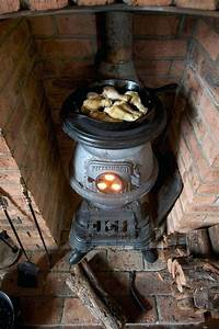 Pot Belly Stove Electric Fireplace Brilliant Potbelly ...