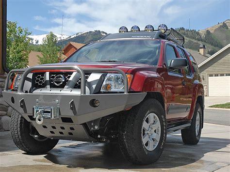 xterra front bumper  generation