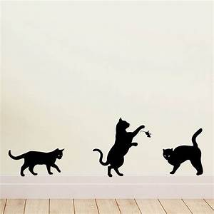 Cat wall art stickers by quotes designs