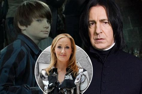 Jk Rowling Reveals Why She Named Harry Potter's Son After