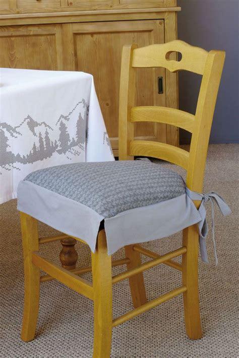 galettes chaises galette de chaise tricot beaux meubles