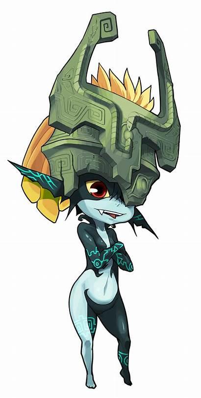 Midna Imp Deviantart Zelda Twilight Princess Legend
